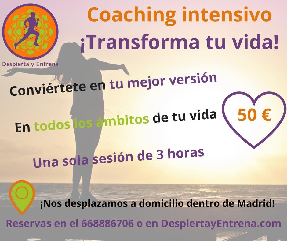coaching intensivo despierta y entrena